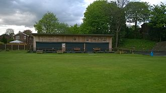 Bury Cricket Club - The new pavilion at Bury CC opened in 2013