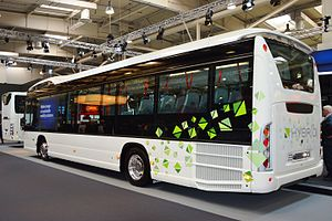 Scania Citywide - Citywide LE Hybrid rear.