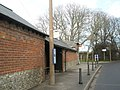 Bus stop by Bosham Post Office - geograph.org.uk - 652687.jpg