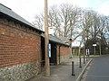 Bus stop by Bosham Post Office - geograph.org.uk - 652687.jpg