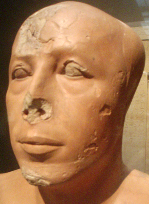 Ankhhaf (sculpture) - Image: Bust Of Prince Ankhhaf Close Up Partial Profile Museum Of Fine Arts Boston