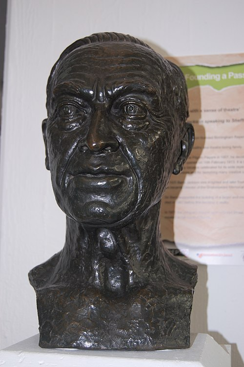 Bust of sir barry jackson