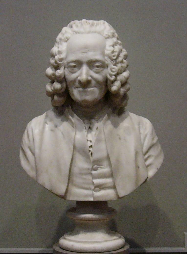 Buste de Voltaire