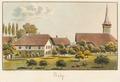 CH-NB - Belp, Pfarrhaus und Kirche - Collection Gugelmann - GS-GUGE-WEIBEL-D-14b.tif