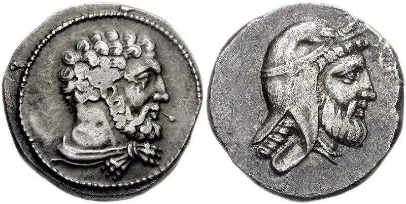 CILICIA, Mallos. Tiribazos. Satrap of Lydia, 388-380 BC