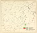 CL-36 Pinus taiwanensis, luchuensis & hwangshanensis range map.png