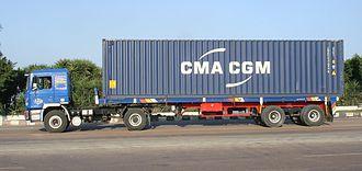 CMA CGM - CMA CGM container
