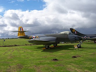 City of Norwich Aviation Museum - Gloster Meteor F.8 WK654 of the RAF