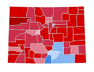 1984 United States presidential election in Colorado - Image: CO1984