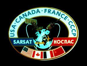 International Cospas-Sarsat Programme - Logo as Used Until 1992