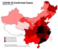 Fichier:COVID-19 Confirmed Cases Animated Map.webm