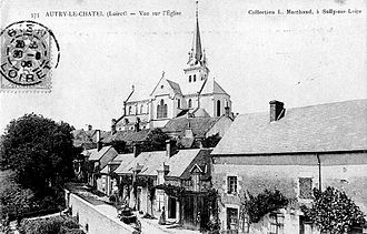 Autry-le-Châtel - Old postcard of Autry-le-Châtel