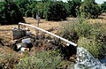 CSIRO ScienceImage 4680 Experimental installation showing instruments measuring outflow of drainage water from citrus orchard Griffith NSW.jpg