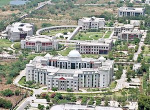 Chhatrapati Shahu Ji Maharaj University - Aerial view of Chhatrapati Shahu Ji Maharaj University