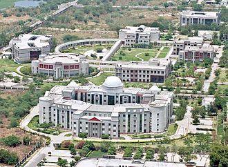 Kanpur - Aerial view of Chhatrapati Shahu Ji Maharaj University