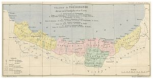Trebizond Vilayet - Image: CUINET(1890) 1.036 Vilayet of Trebizond