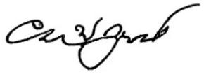 Charles Woodruff Yost - Image: CWY Signature