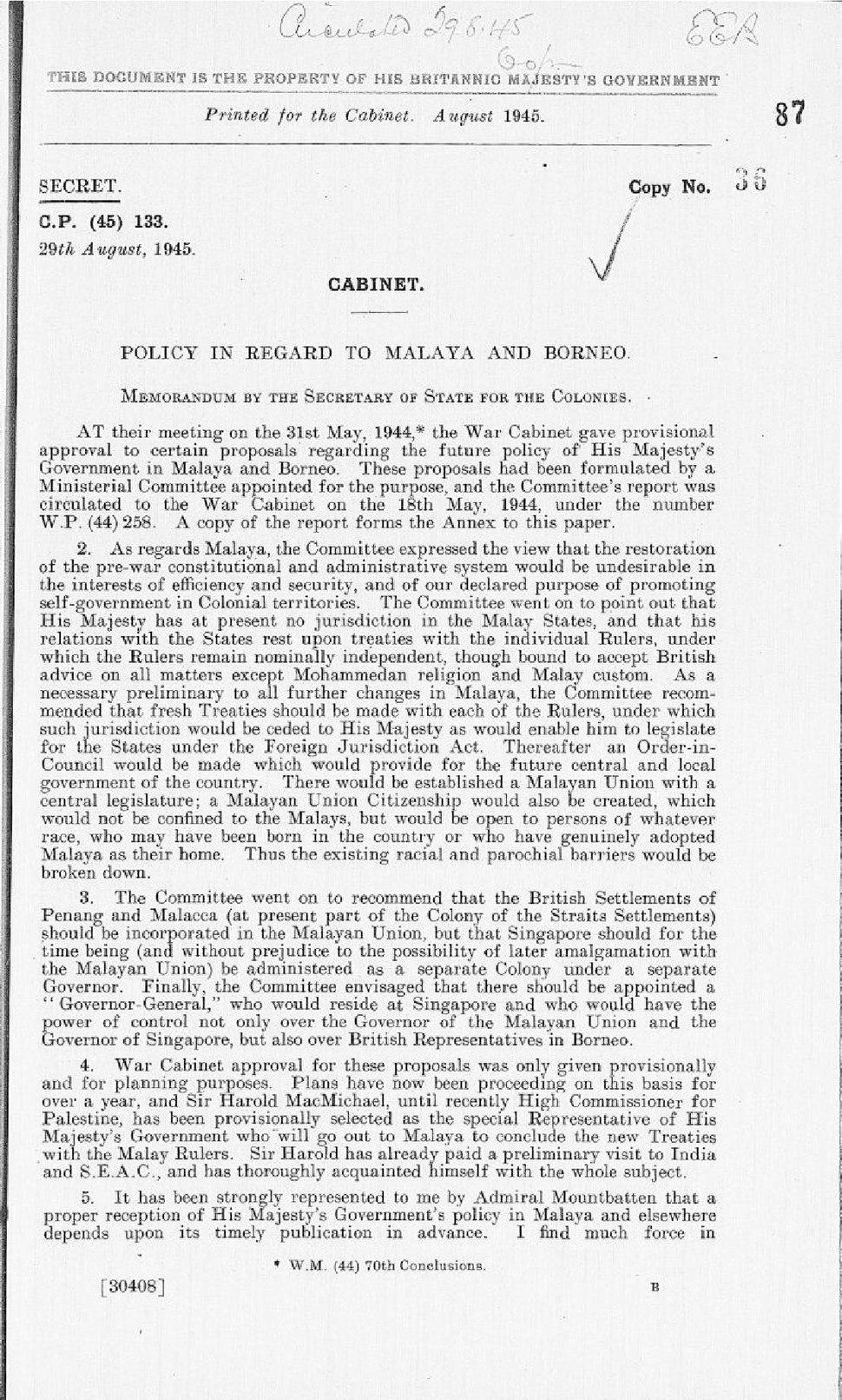 Cabinet Memoranda 29 August 1945 (cab-129-1-cp-133).pdf