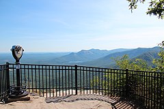 Caesars Head State Park overlook, June 2019 1.JPG