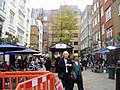 Cafe society in Barrett Street - geograph.org.uk - 1032915.jpg