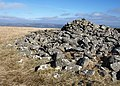 Cairn on Snowdon - geograph.org.uk - 1182026.jpg