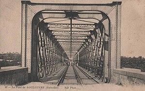 Souleuvre Viaduct - Image: Calvados viaduc souleuvre cpa voie