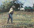 Camille Pissarro - Le Semeur, Montfoucault (semeur et laboureur) - 1875.jpg