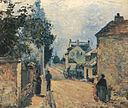 Camille Pissarro - Une rue à L´Hermitage - 1875.jpg