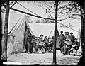 Camp of Captain (G.F.W. Wiley) Assistant Quartermaster, Stonemans Station, Virginia. (3995370595).jpg