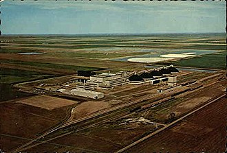 Potash - A postcard of the Kalium Chemicals plant in Regina