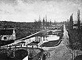 Canal du Centre, Les sept écluses, from Reynaud, Léonce (1803-80) - Les Travaux publics de la France.jpg