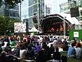 Canary wharf jazz festival 2010.jpg