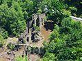 Canejan ruines vues depuis Bausen.jpg