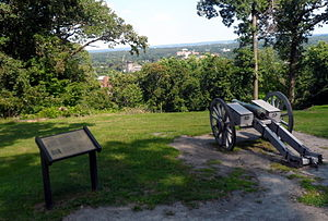 Morristown, New Jersey - Cannon at Fort Nonsense