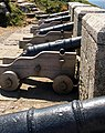 Cannons defending St Michael's Mount - geograph.org.uk - 219019.jpg