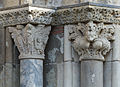 Capital of Original sin and Capital of the lions - Porte Miègeville - Basilica of Saint-Sernin.jpg