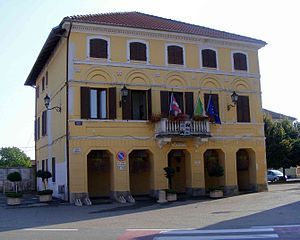 Carisio - Town hall.