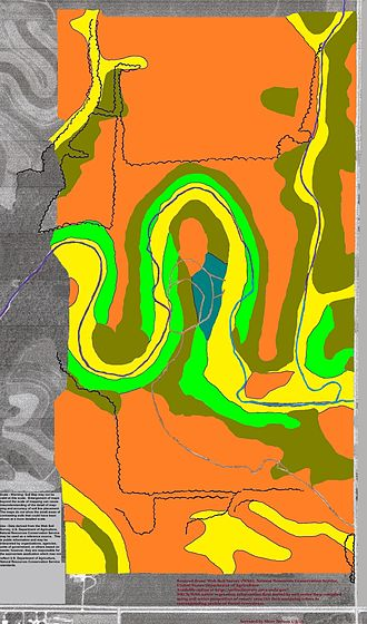 Wabasha County, Minnesota - Soils of Carley State Park area