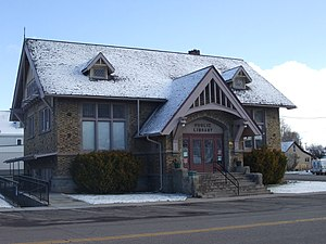 National Register of Historic Places listings in Utah - Richfield Carnegie Library in Richfield