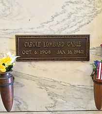 Carole Lombard Grave.JPG