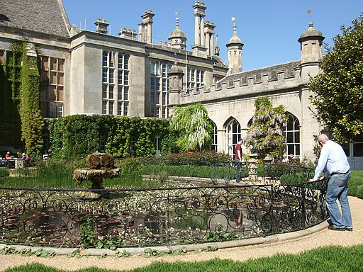 Carp pond and orangery, Burghley House, Stamford (geograph 2388034)