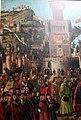 Carpaccio, storie di s.orsola 04, Incontro dei fidanzati e partenza dei pellegrini, 1495, 02.JPG