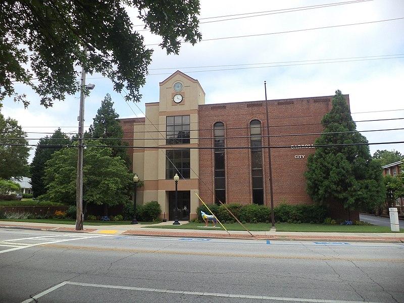 Carrollton City Hall, Georgia.JPG