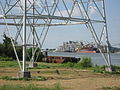 Carrollton Riverbend Levee Aug 2009 River H.JPG