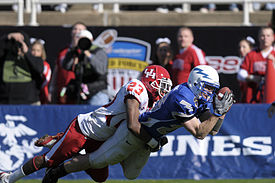 Carson Blackmon and Spencer Armstrong 2008 Armed Forces Bowl.jpg