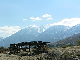 Carson Range - Image: Carsonvalleyjobspeak