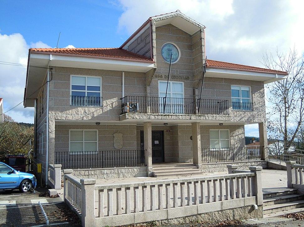 Casa consistorial de Beariz
