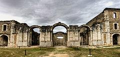 Castell de Sant Ferran de Figueres - Detall Església