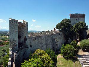 Castiglione del Lago - Image: Castiglione del Lago Fortress