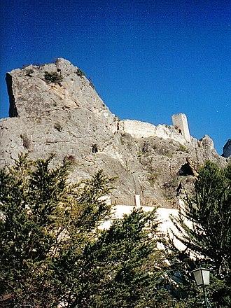 Quesada, Spain - Tíscar castle, located in Tíscar village